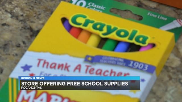 Store offers free school supplies in exchange for history facts