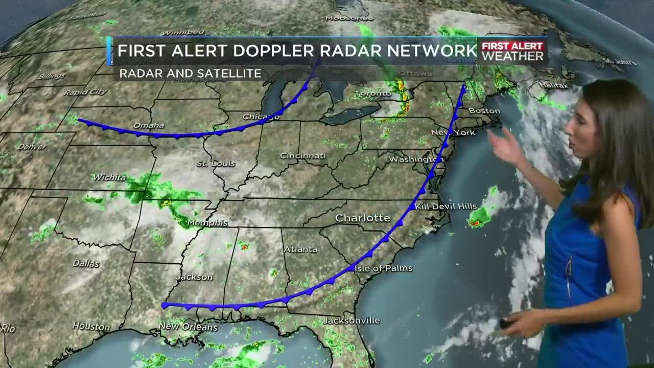Nearly storm-free stretch to last through the weekend