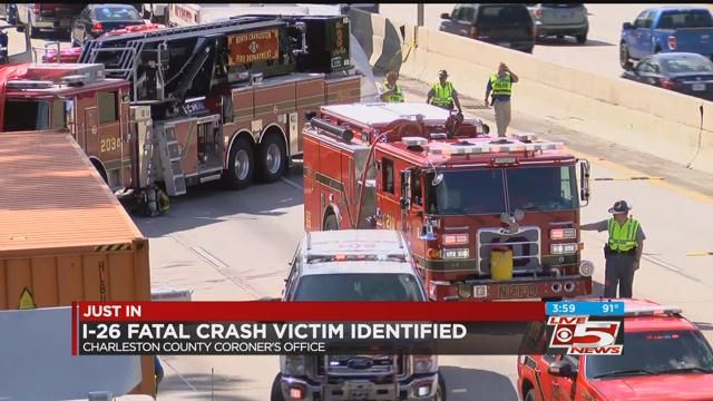 Victim in deadly 5-vehicle wreck on I-26 identified