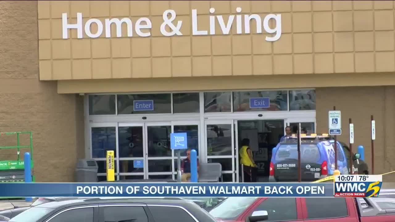 Walmart in Southaven re-opens after shooting