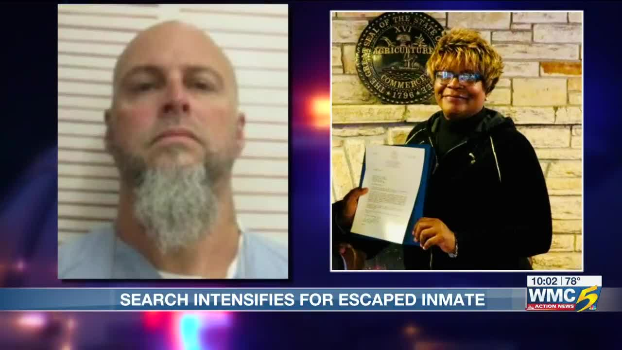 Search intensifies for W  Tennessee prison escapee suspected