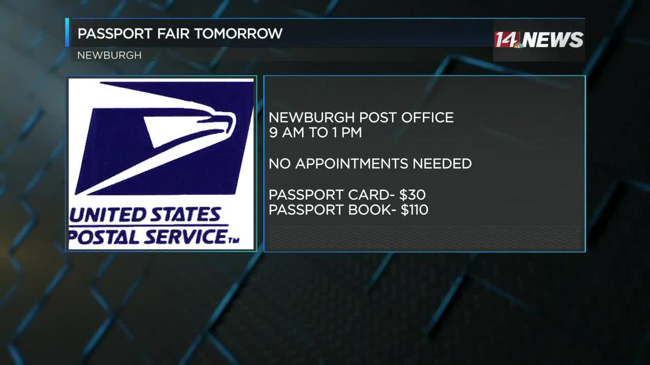 Newburgh Post Office hosting event for people to get passports