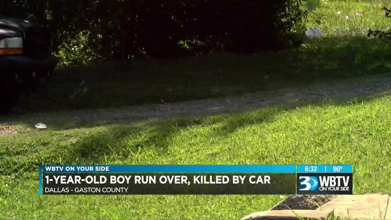 One-year-old baby run over and killed by relative moving a vehicle