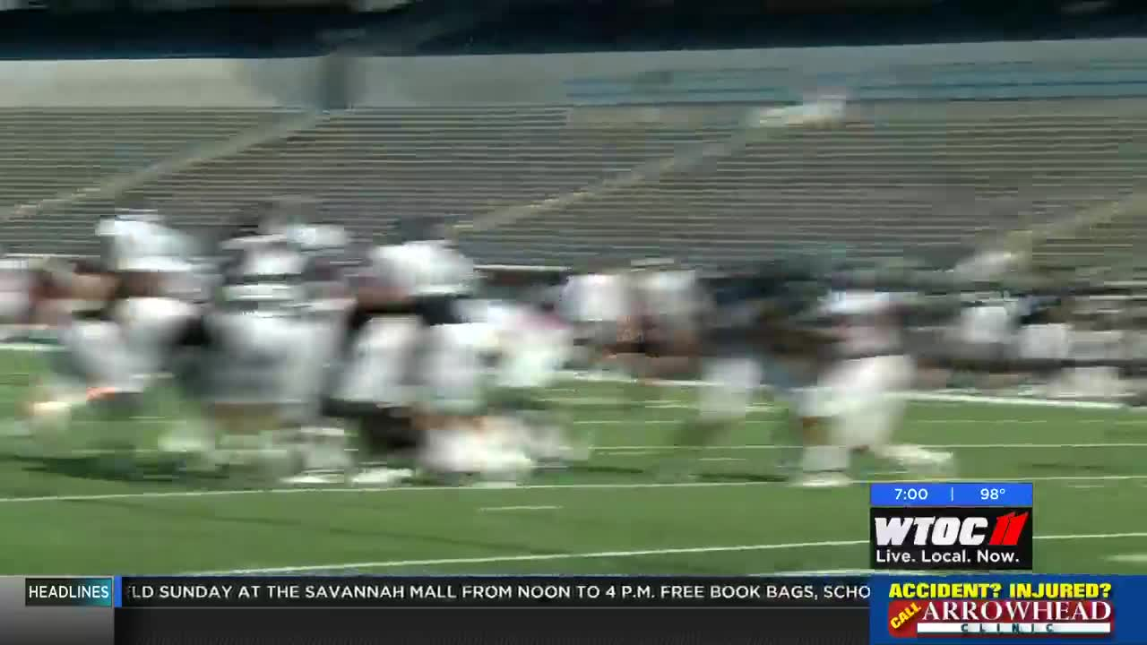GS quarterback speaks publicly after drug charges dropped