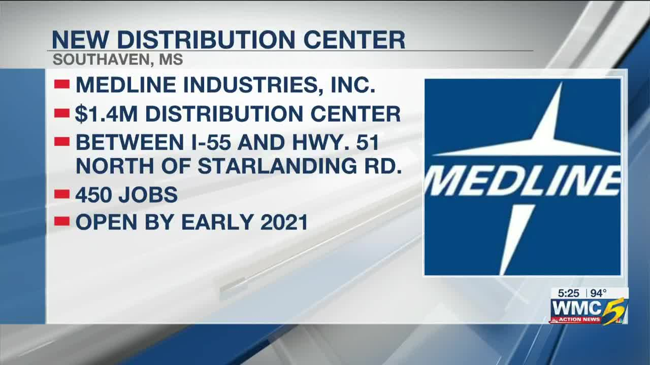 From Memphis to Southaven, Medline makes $1 4M move