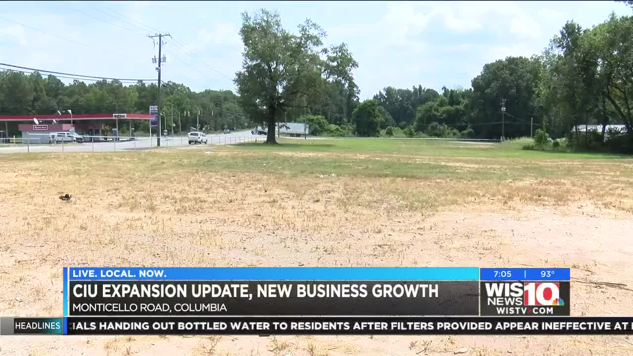 Six months later, is anything being built on Monticello Road