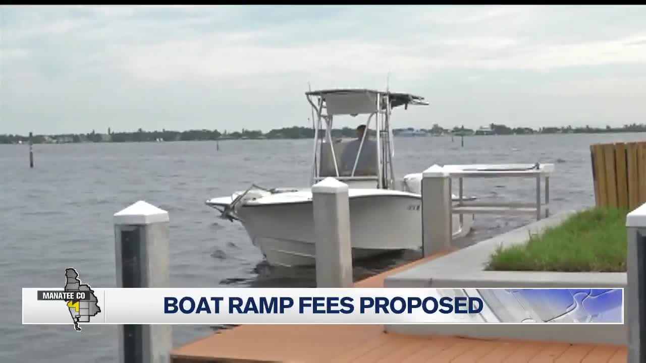 New Manatee County boat ramp fees proposed