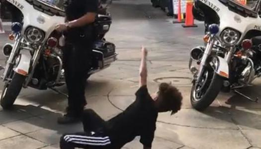 WATCH: Colorado police officer breakdances with 7-year-old boy