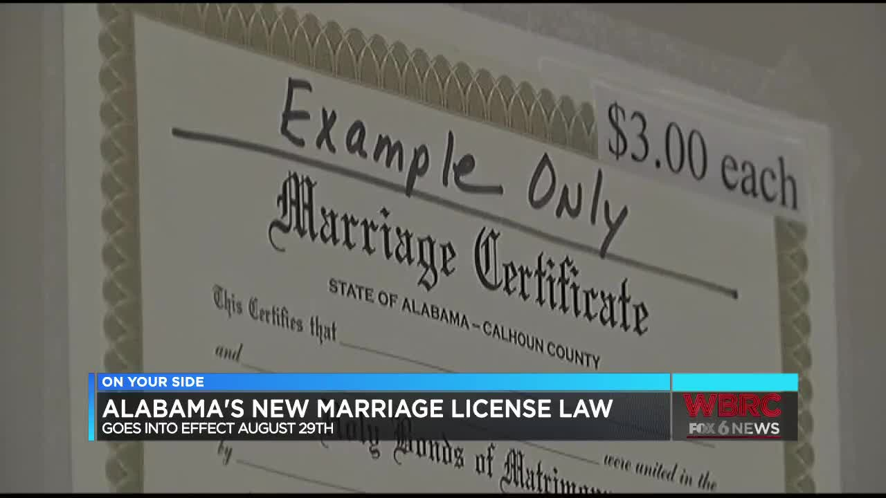 state of alabama marriage laws
