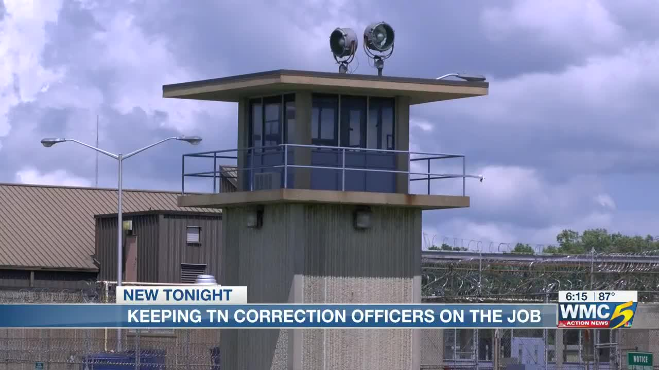 Tennessee correctional officer salaries still lag behind