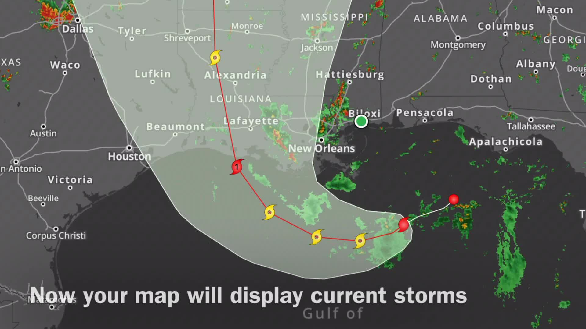 How to track tropics with the WLOX Weather App