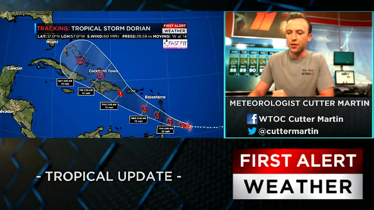 First Alert Tropical Update: Watching Invest 98-L, Tropical