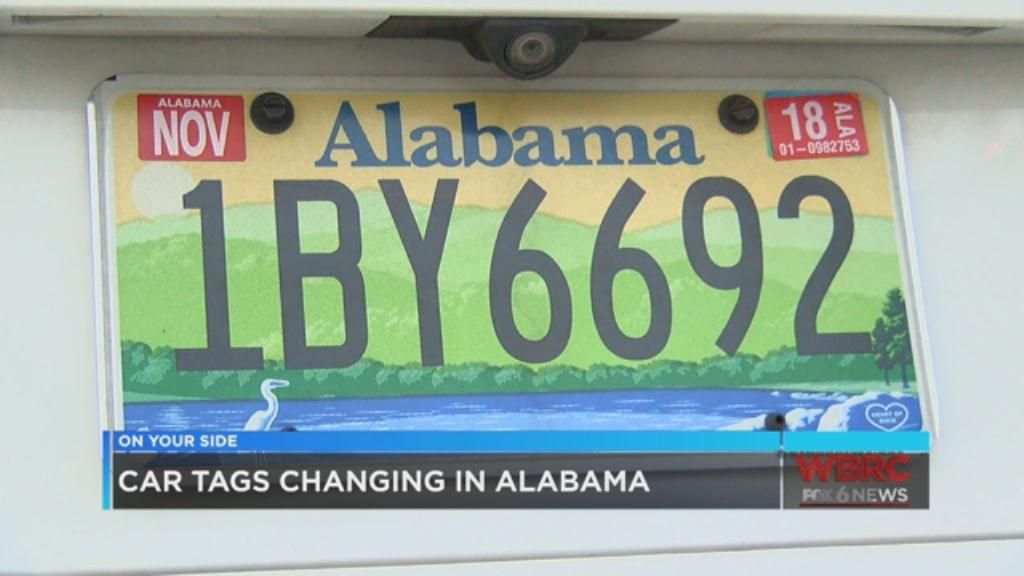 Alabama Car Tags >> State Rolls Out New Vehicle Validation Decals
