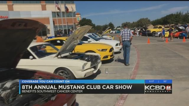 Mustang Club Hosts Car Show To Benefit Southwest Cancer Center - The count car show