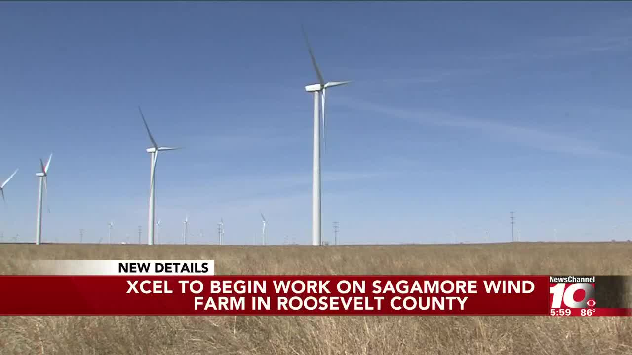 Xcel Energy announces construction of largest wind farm in N M