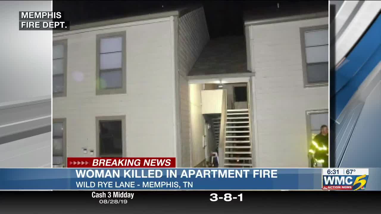 Woman killed in early morning apartment fire