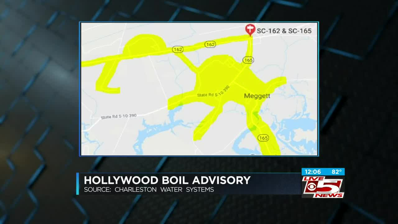 Boil water advisory lifted for 500 people in Hollywood area