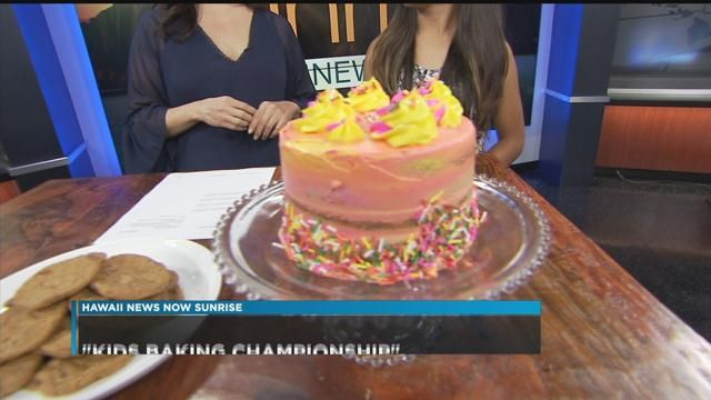 Kailua Girl Competes To Win Title On Food Networks Kids Baking Championship
