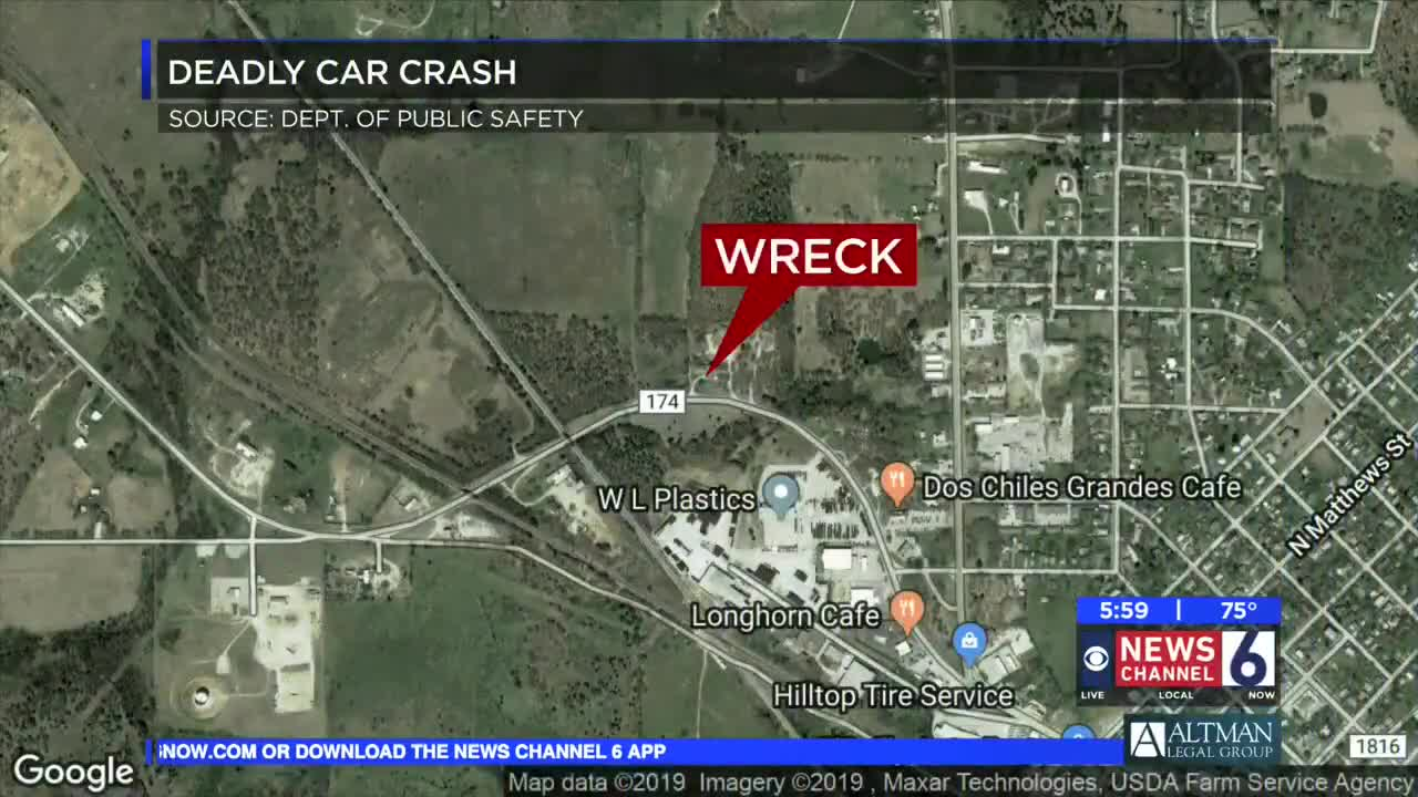 Name released in Bowie fatal accident