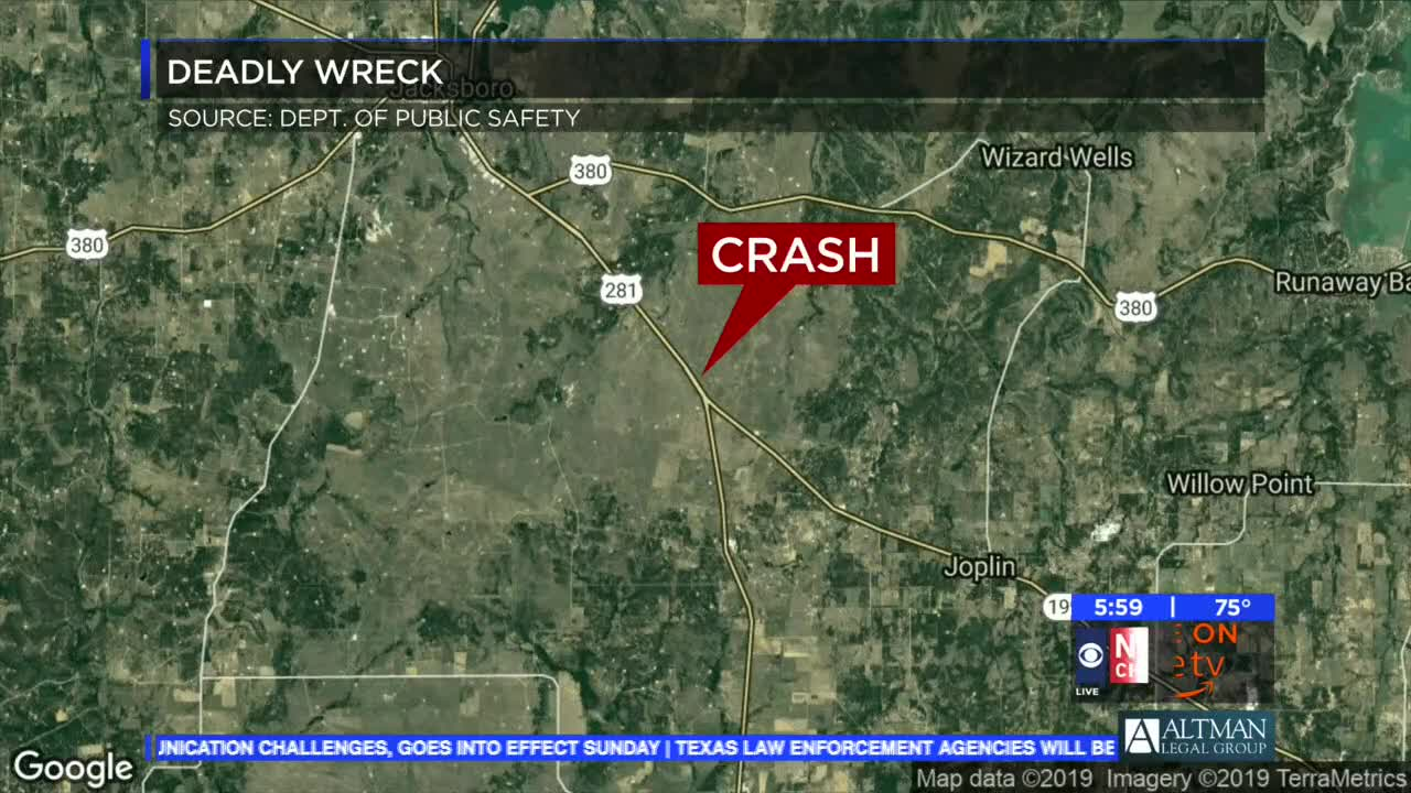 Fatality in Jack County accident