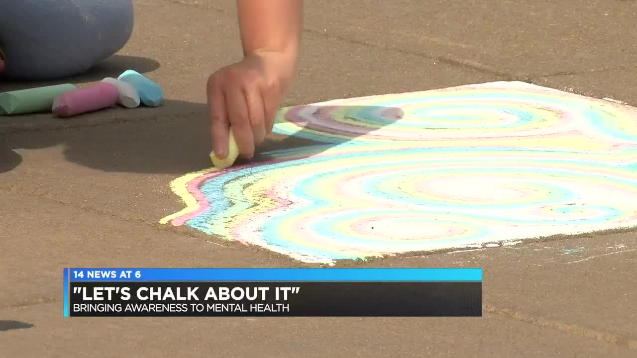 Let's Chalk About It' event held in Evansville