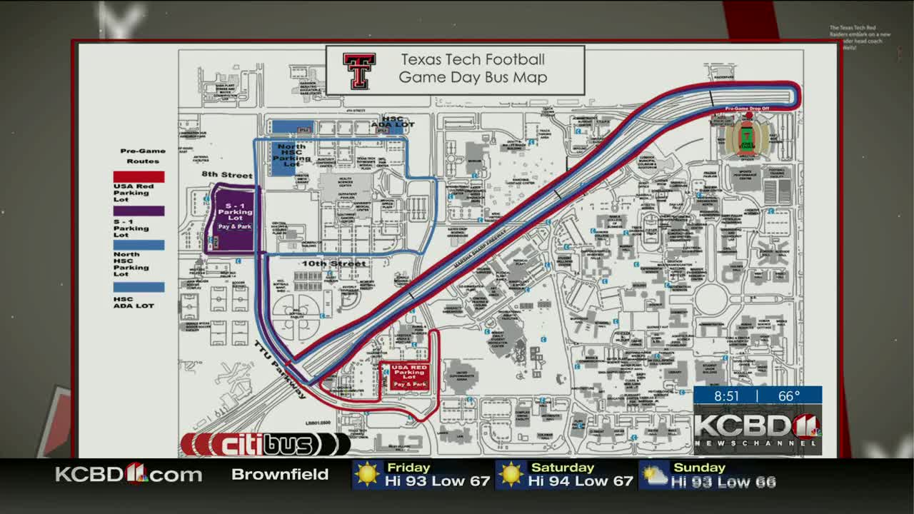 Texas Tech making changes to gameday bus traffic