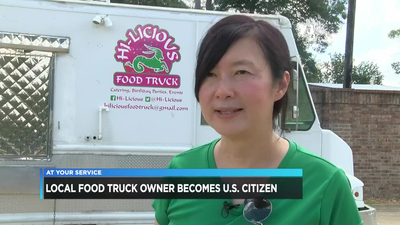 Louisiana food truck owner becomes U.S. citizen
