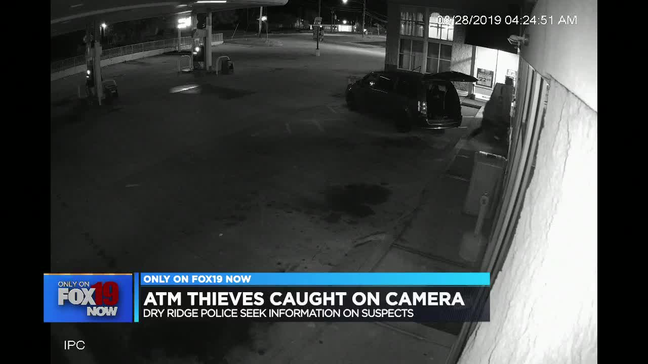 ATM stolen from northern Kentucky gas station