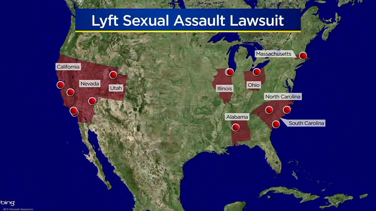 14 sexual assault survivors sue Lyft claiming negligence in