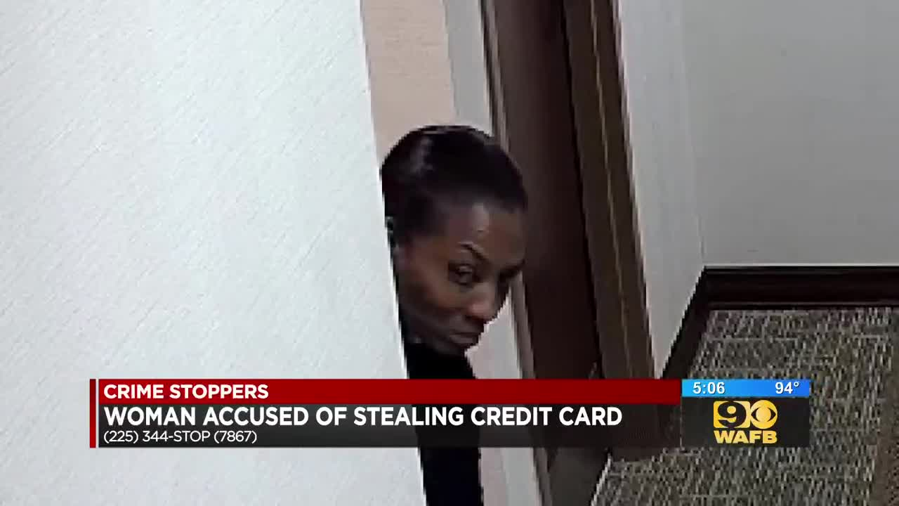 Suspect racks up nearly $1,500 in fraudulent charges after