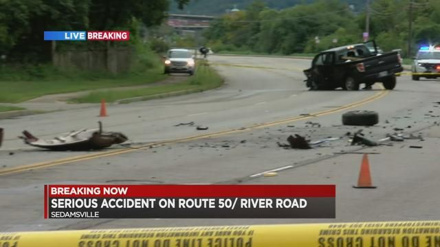 Teen critically injured in crash on River Road