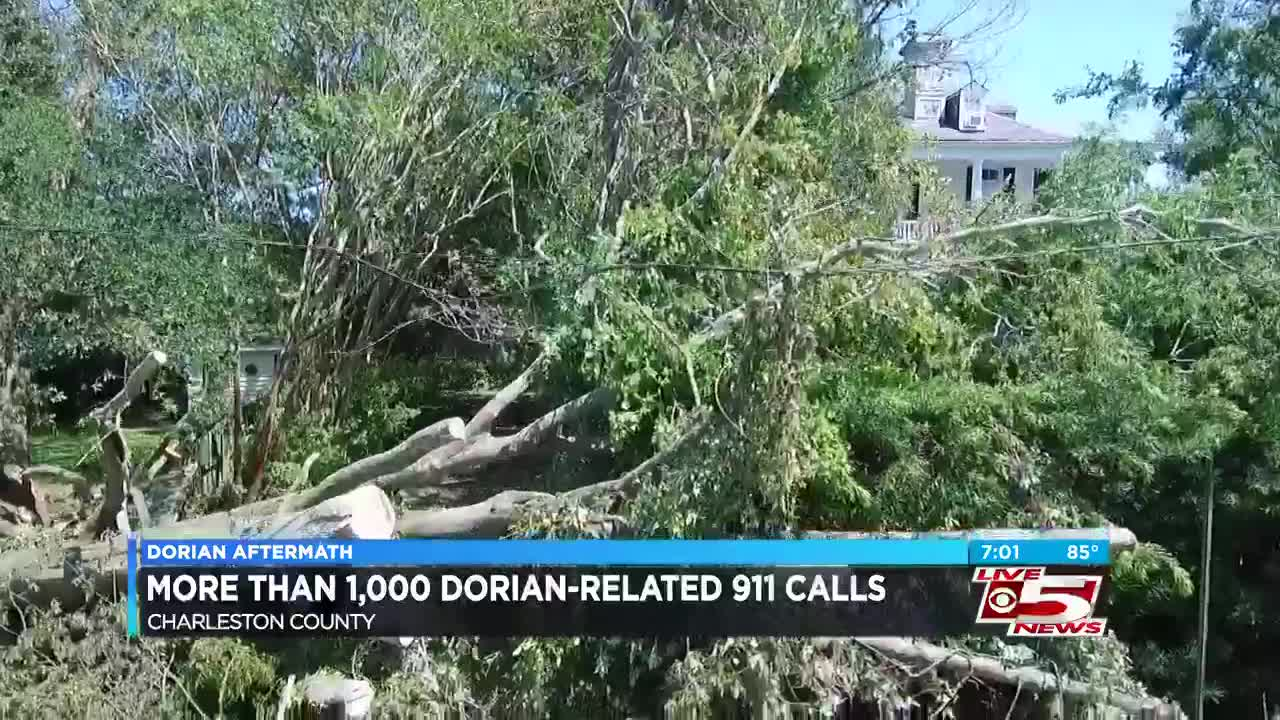 Charleston County received more than 1,000 Hurricane Dorian