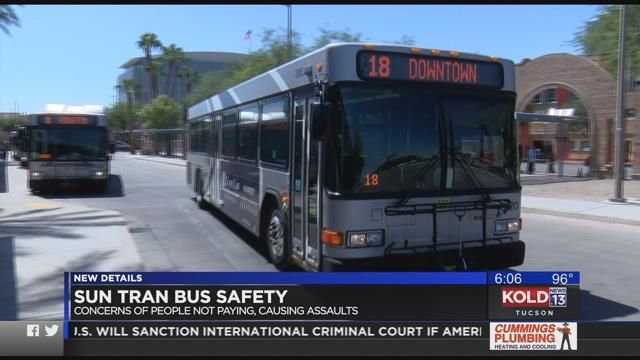 Sun Tran bus safety
