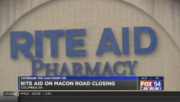 rite aid on macon rd in columbus to permanently close in october