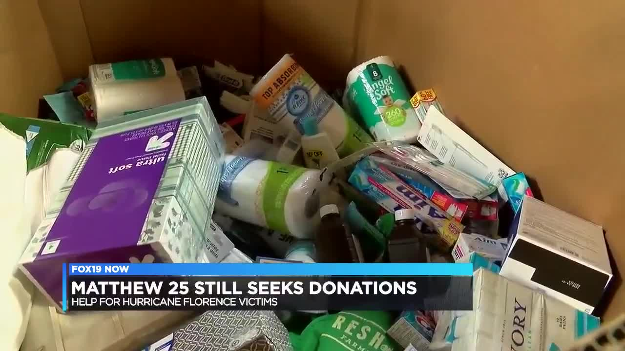 Matthew 25: Ministries heads to NC to help with flood relief