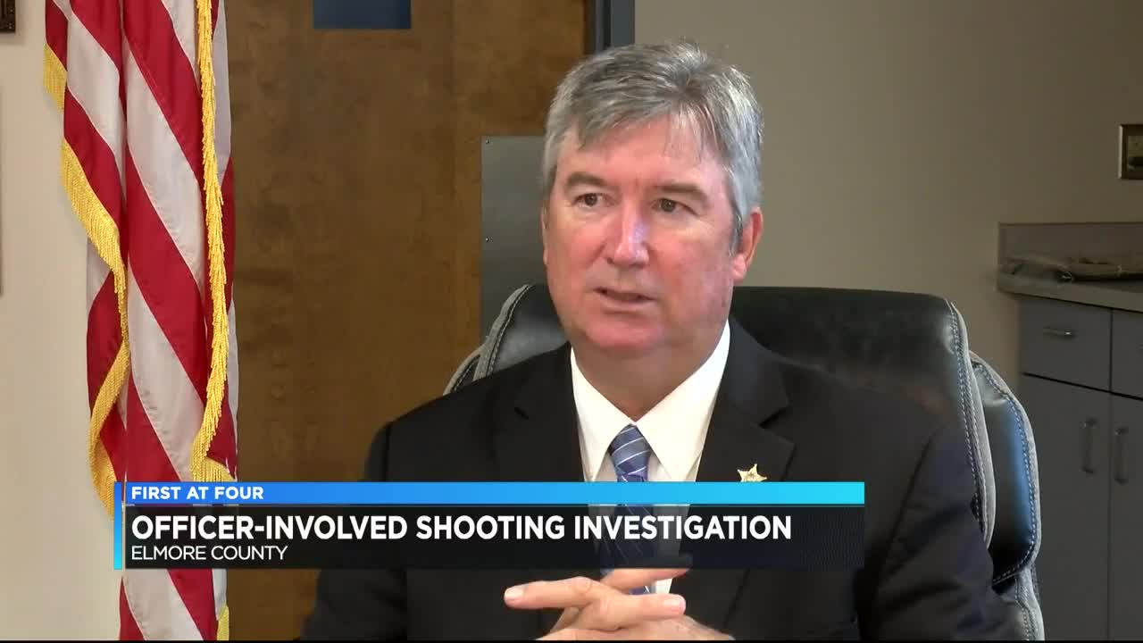 Elmore County sheriff speaks about officer-involved shooting