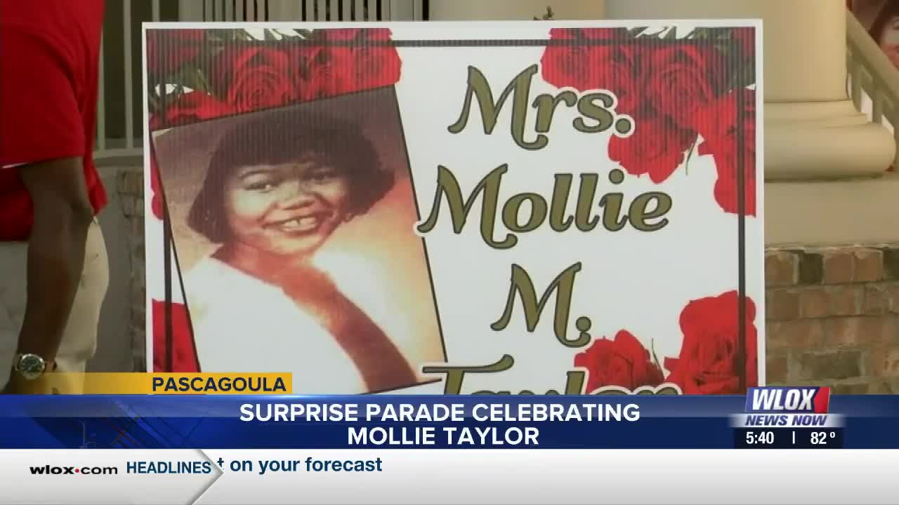 Www.Pascagoula Christmas Parade 2020 Surprise parade celebrating Mollie Taylor in Pascagoula
