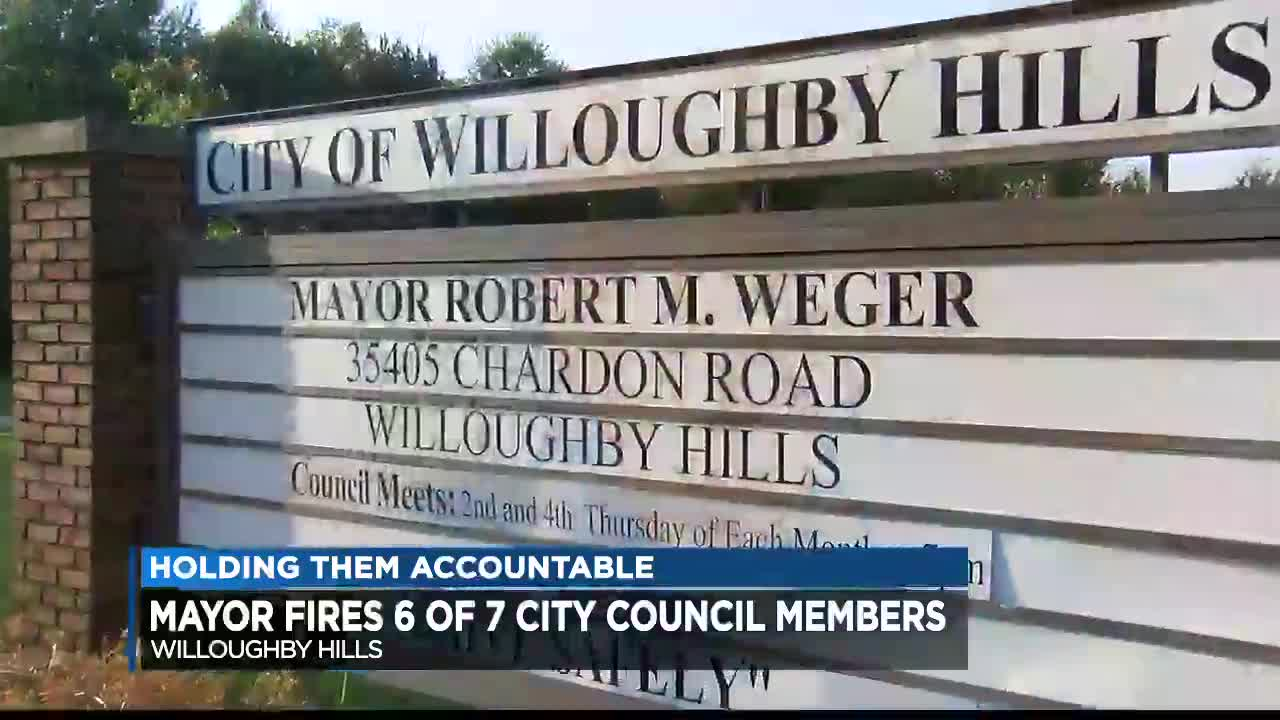 Willoughby Hills Mayor Removes 6 Council Members For Gross Misconduct