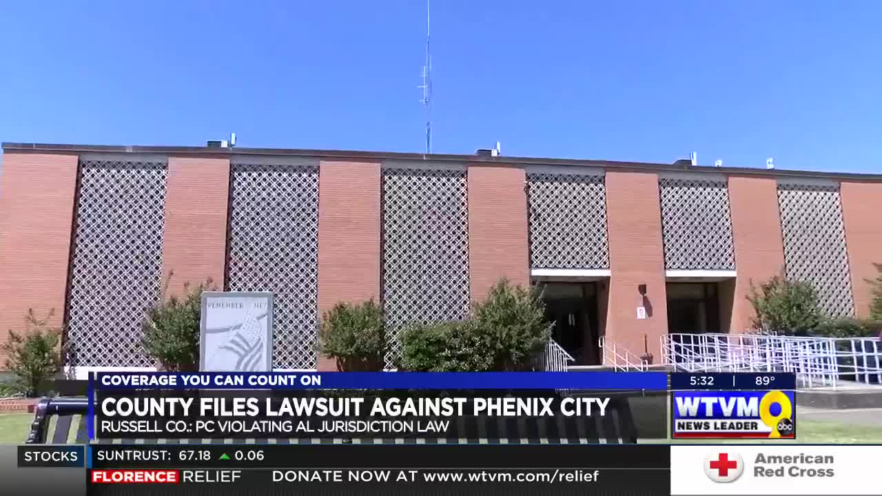 Phenix City, Russell County to mediate in lawsuit over