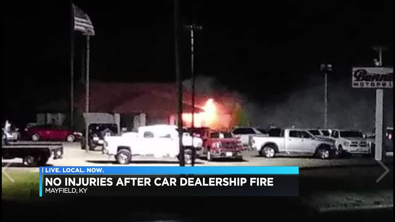 Car Lots In Mayfield Ky >> Crews Called To Fire At Car Dealership In Mayfield Ky