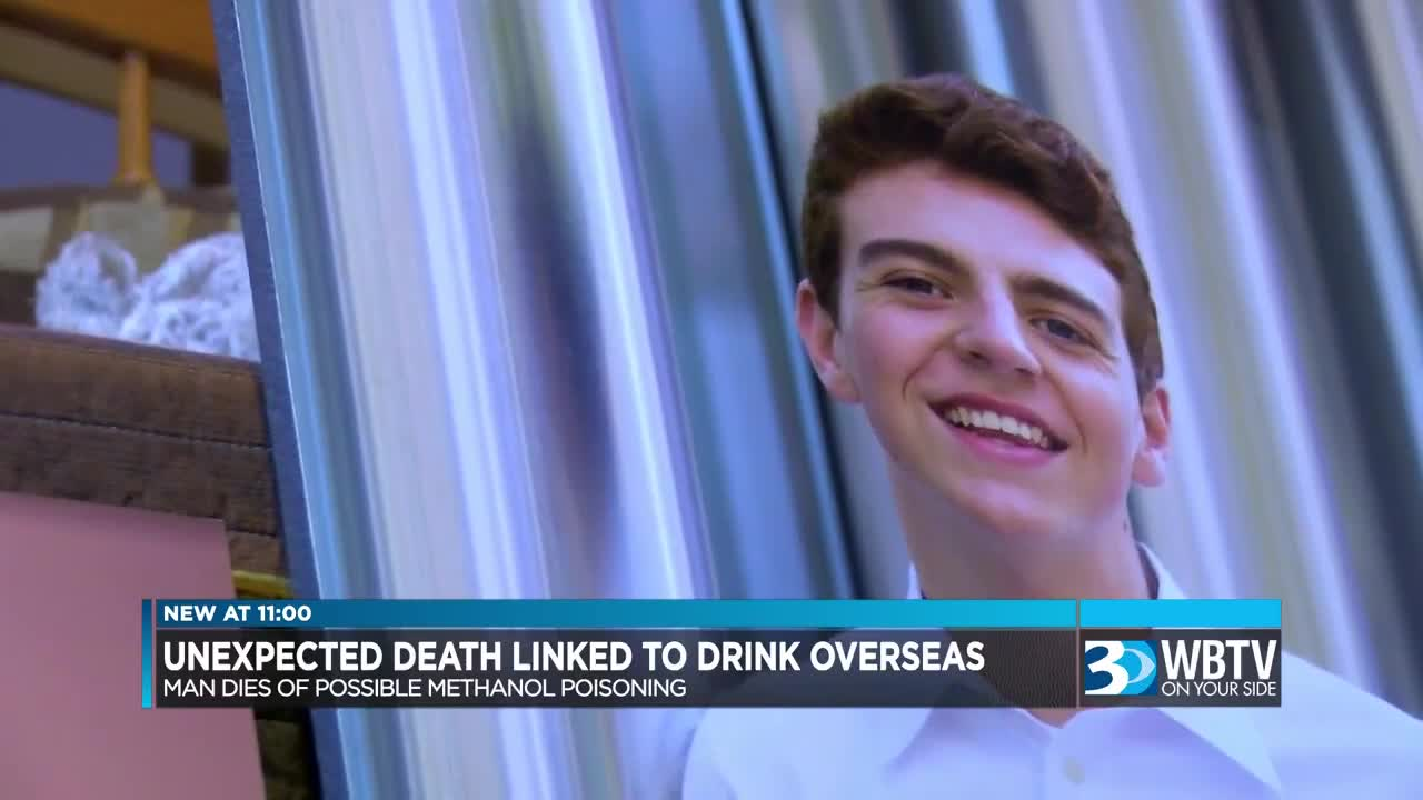 Local family has warning after son dies studying abroad