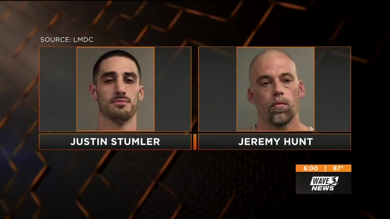 2 inmates escape Kentucky jail after hiding in trash cans