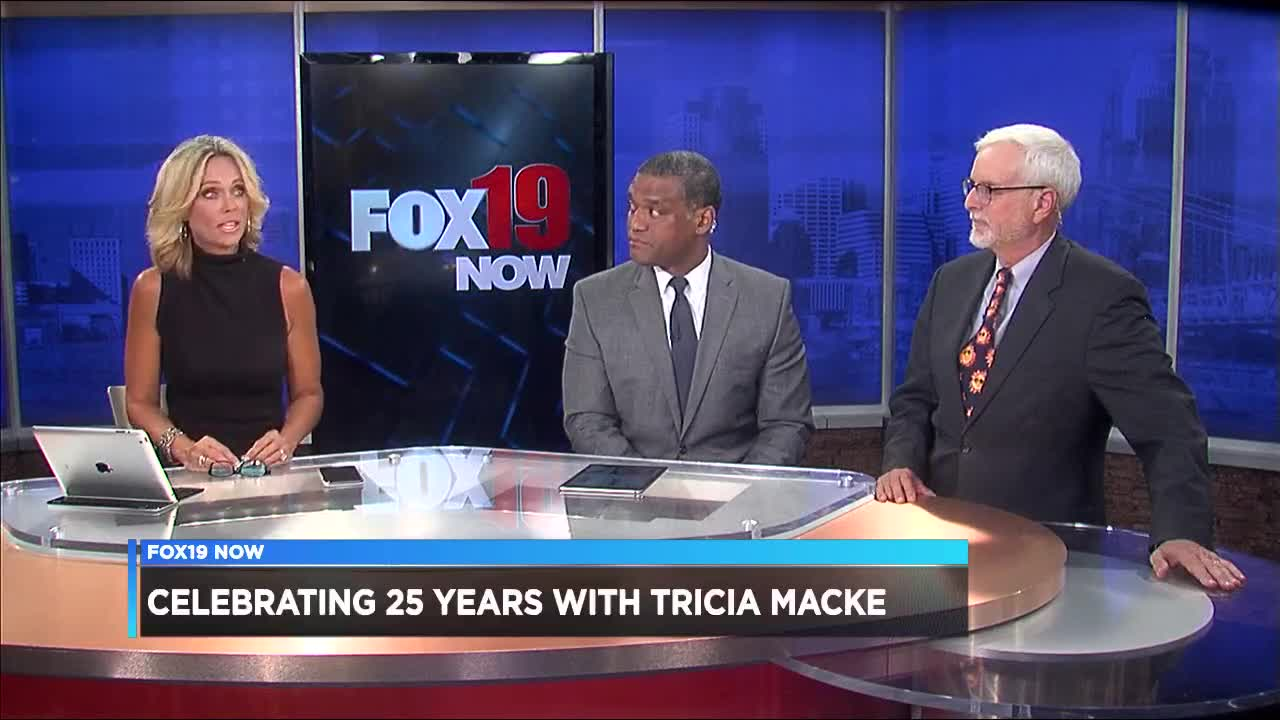 Tricia Macke celebrates 25 years with FOX19 NOW