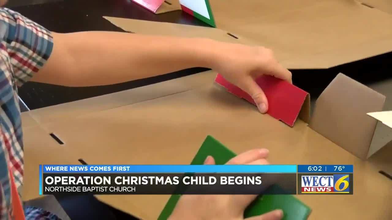 Operation Christmas Child Clipart 2019.Christmas In October Church Prepares For Operation