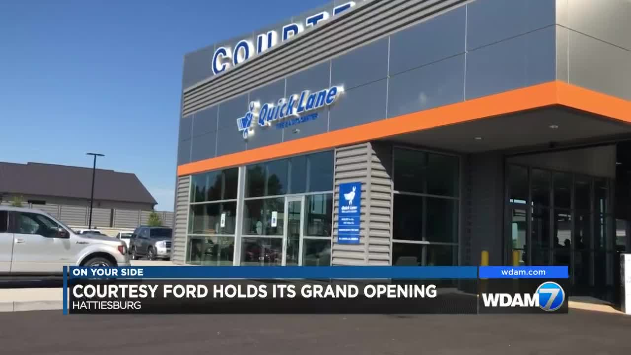 Courtesy Ford Hattiesburg Ms >> Courtesy Ford Celebrates Grand Opening Of New Dealership
