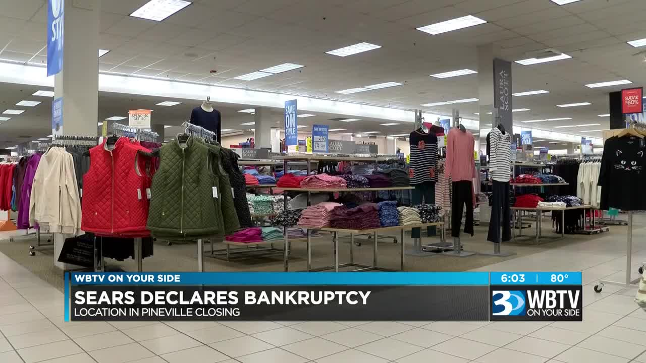 Three Area Sears Stores Close Following Company Bankruptcy