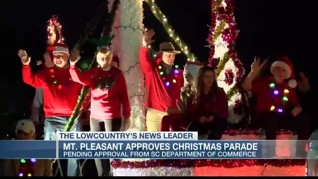 Mt Pleasant Christmas Parade 2020 Mt. Pleasant leaders vote to proceed with annual Christmas Light