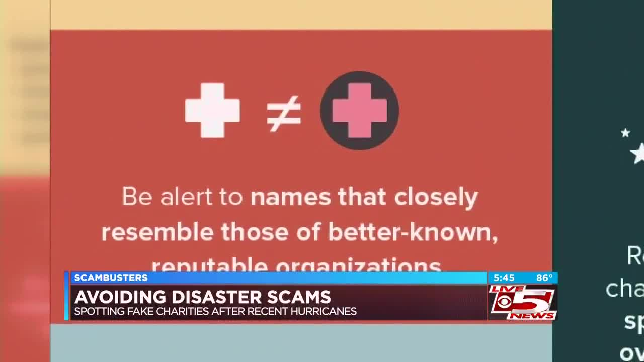 Live 5 Scambusters Avoiding A Disaster Scam After Recent Hurricanes