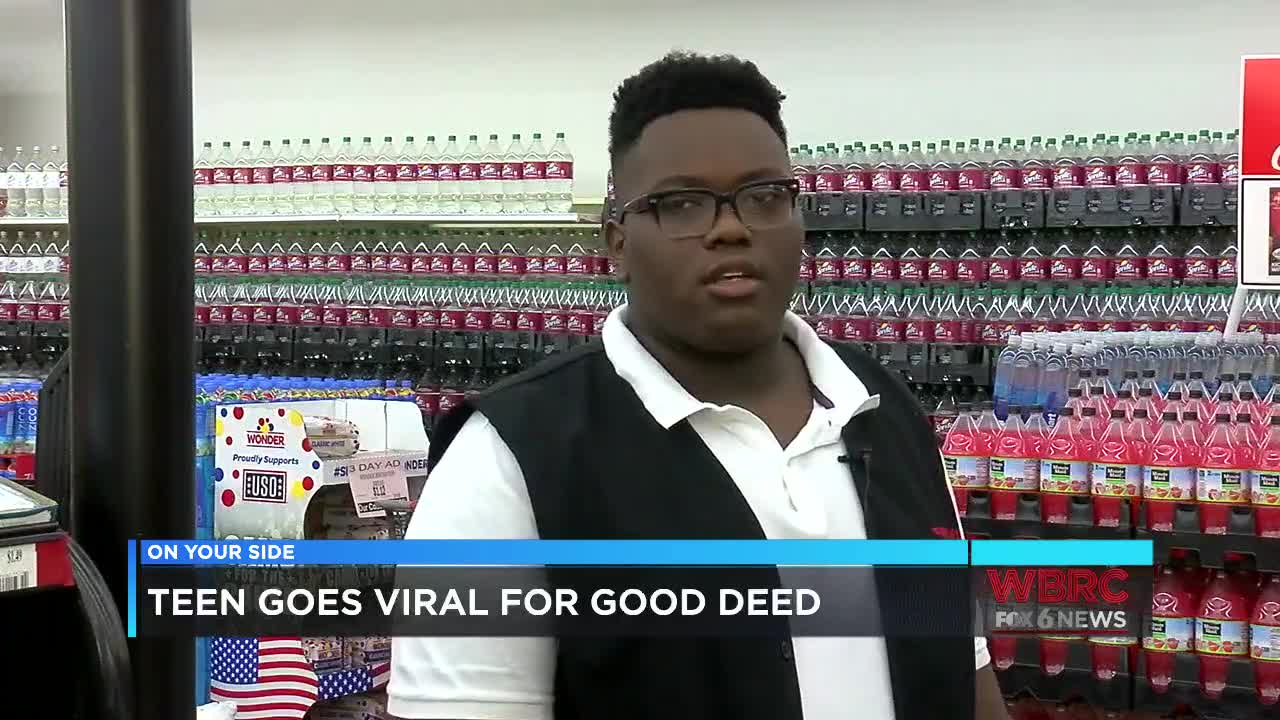 Alabama teen going viral for doing the right thing