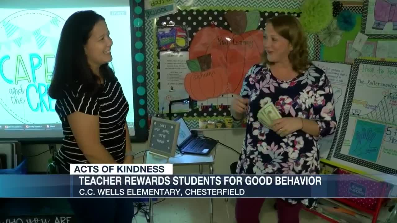 Chesterfield Teacher Makes Positive Changes For Students At School